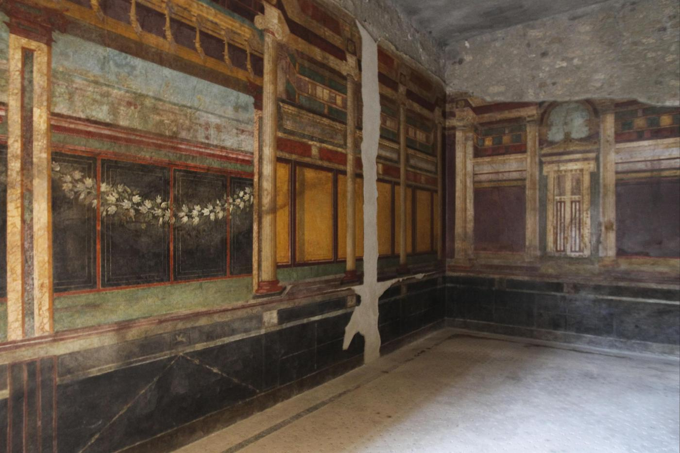 Pompei Villa dei Misteri restaurata