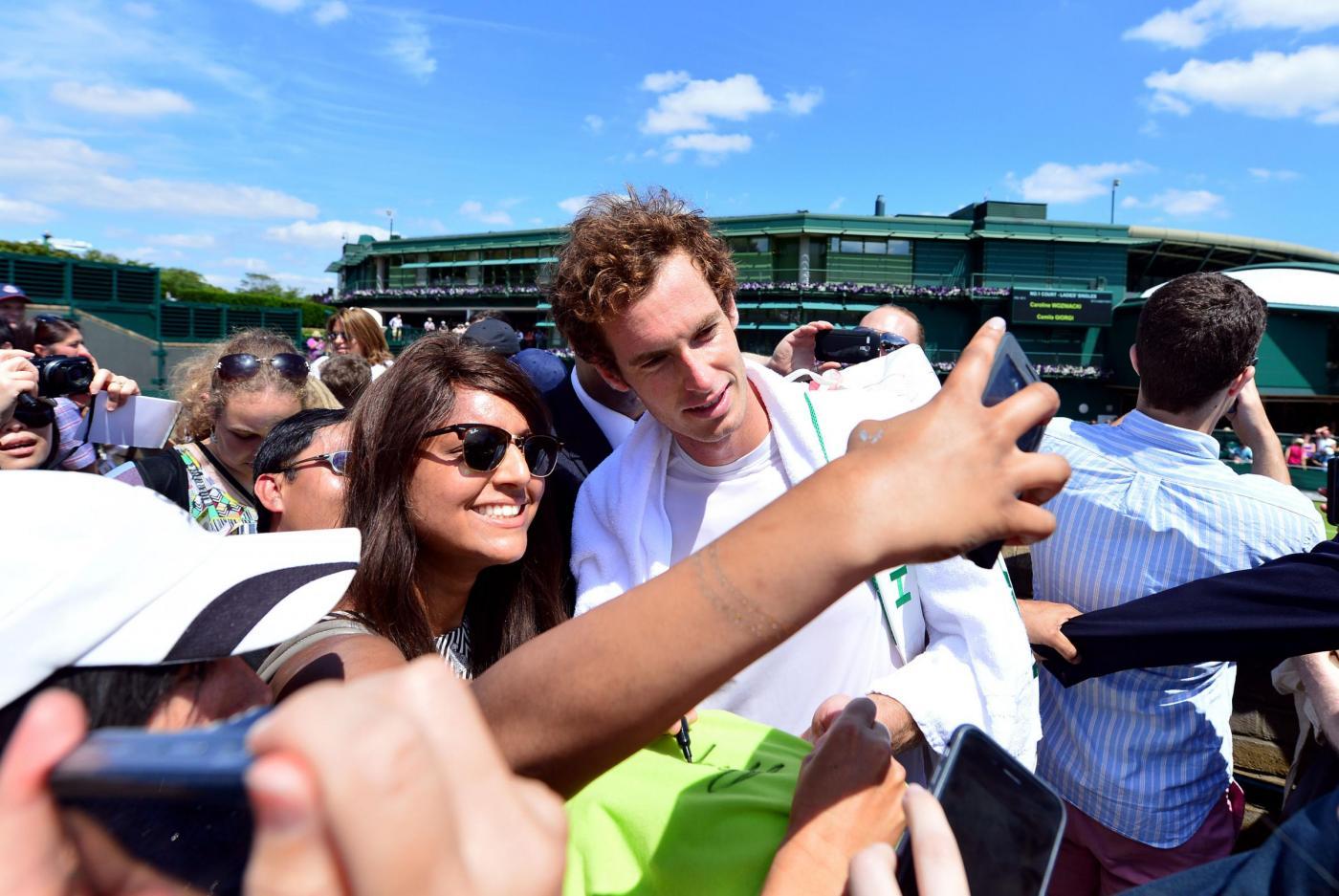 Wimbledon Selfie