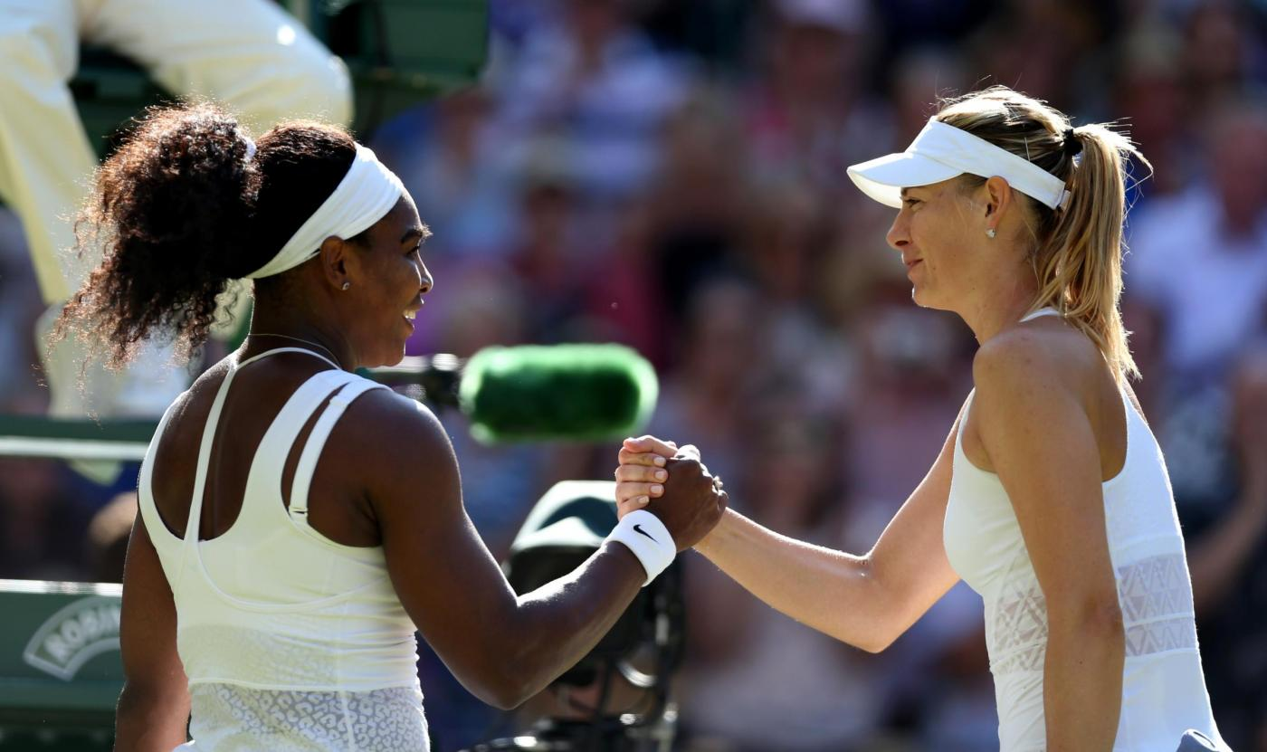 Wimbledon Serena Masha