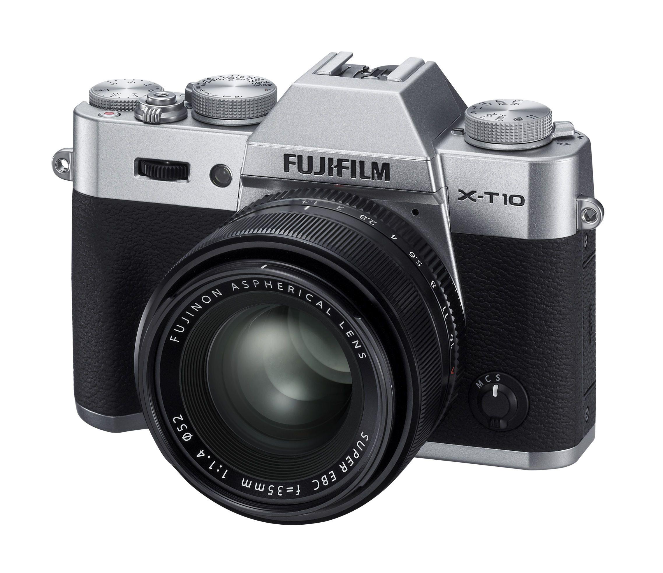 Fujifilm X-T10: la fotocamera digitale dal design unico