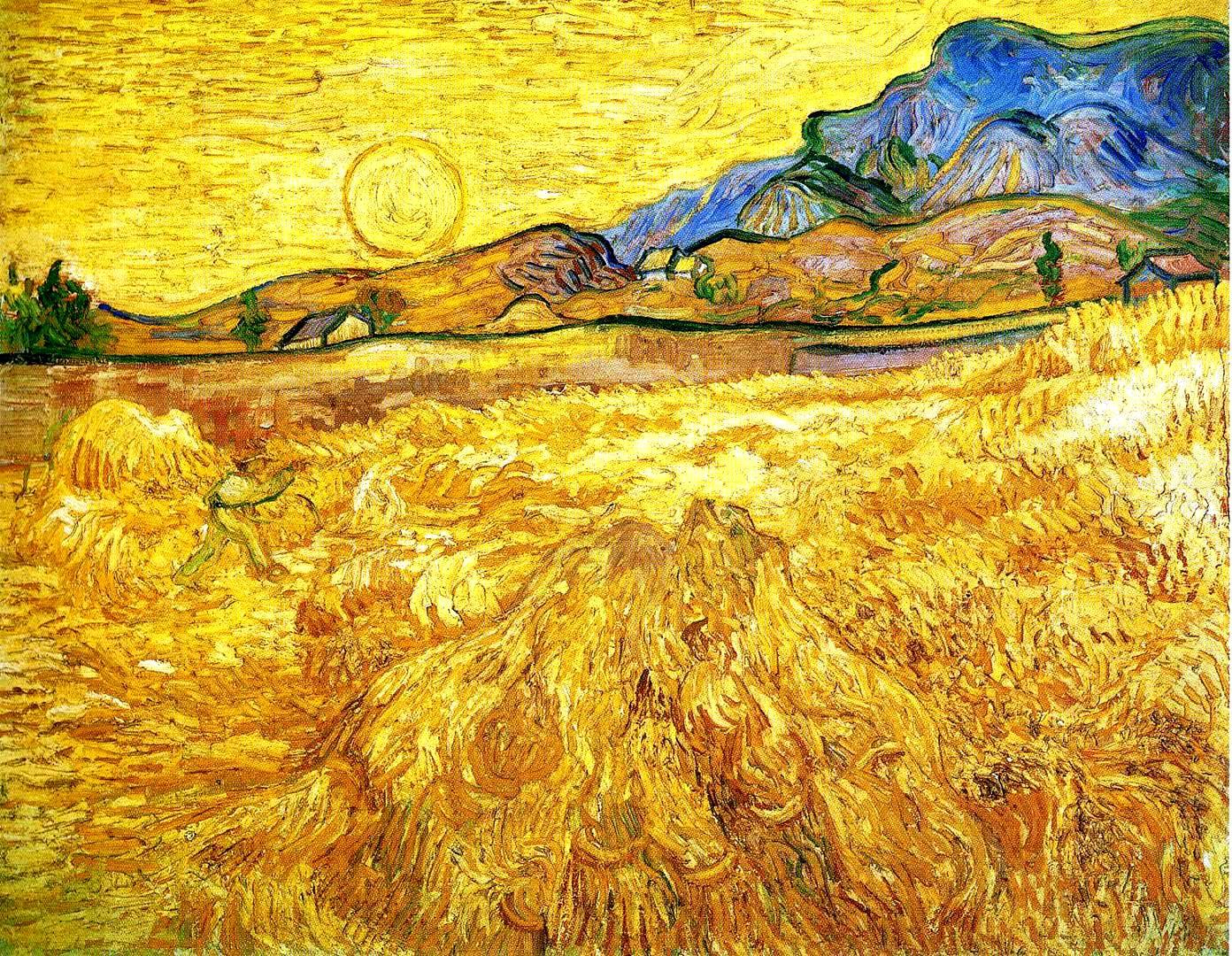 campo di grano van gogh 150x150
