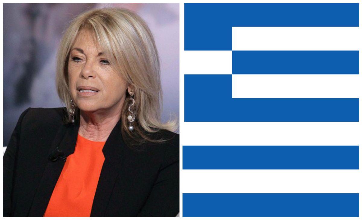 Rita Dalla Chiesa e la gaffe sulla Grecia: 'Li abbiamo aiutati contro i tedeschi'