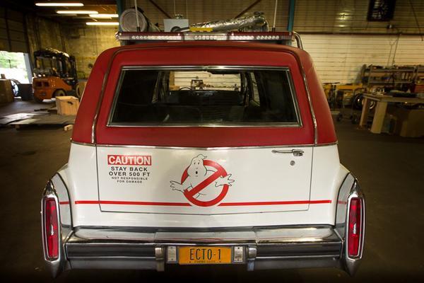 Nuova auto Ghostbusters: le prime foto della ECTO-1