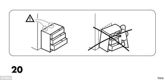 Cassettiera Malm Ikea Istruzioni Montaggio.Ikea Due Bambini Morti Schiacciati Da Cassettiera La Campagna