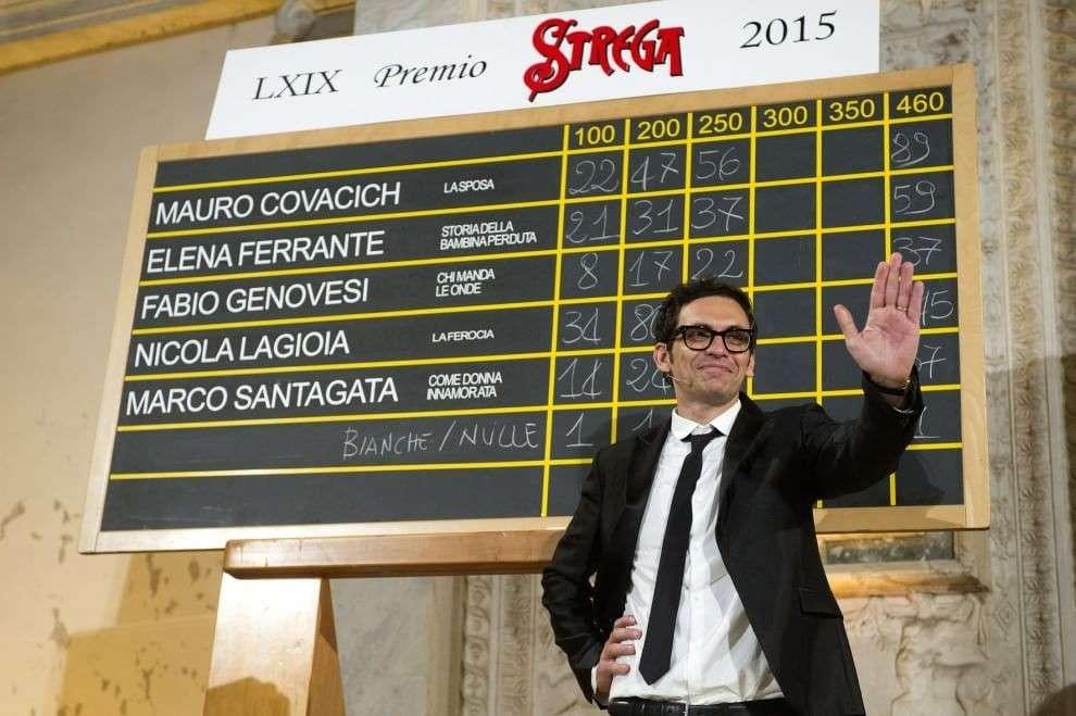 Premio Strega 2015: il vincitore è Nicola Lagioia con 'La ferocia'