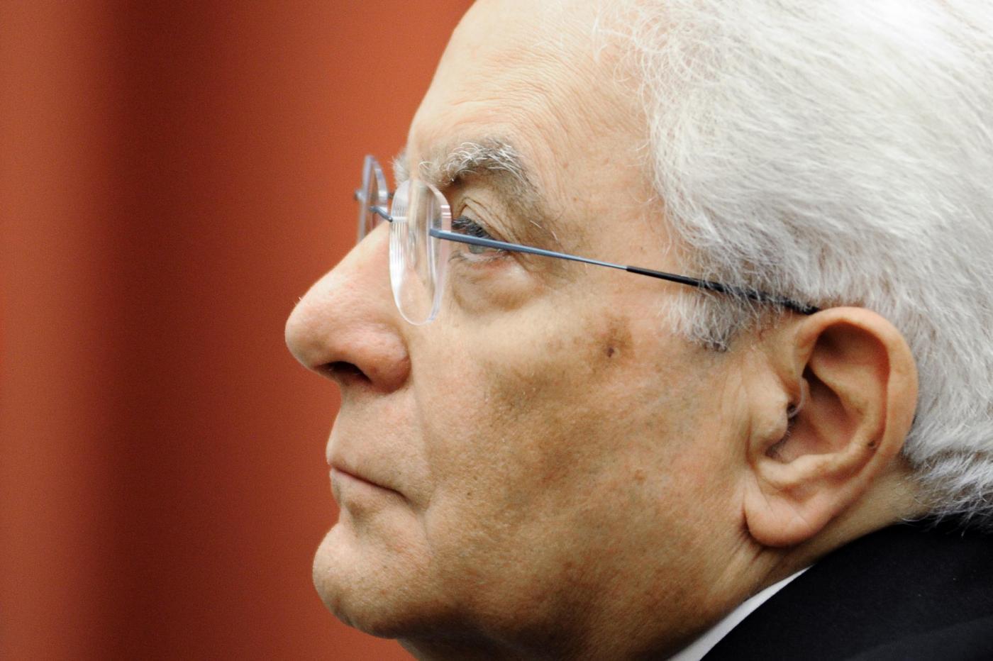 Grave lutto per il presidente Mattarella