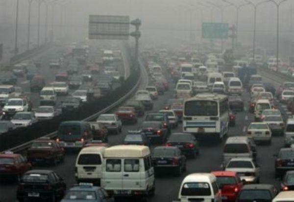 traffico inquinamento