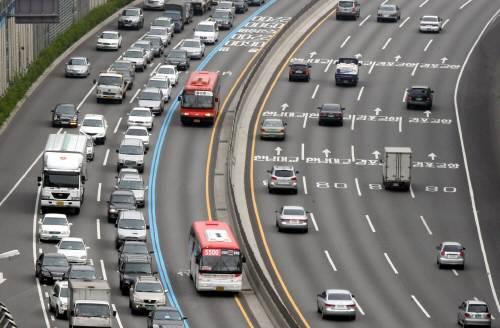 Bus Corea Autostrada