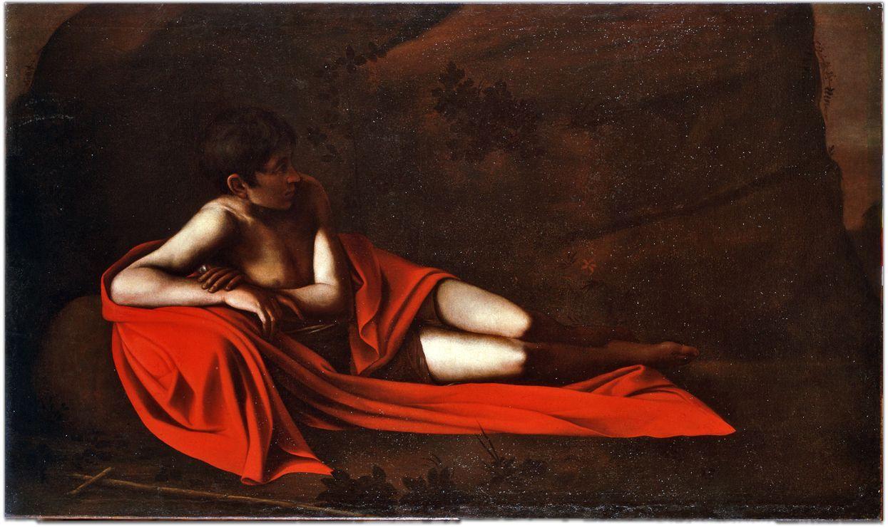Caravaggio SanGiovanni battista disteso 150x150