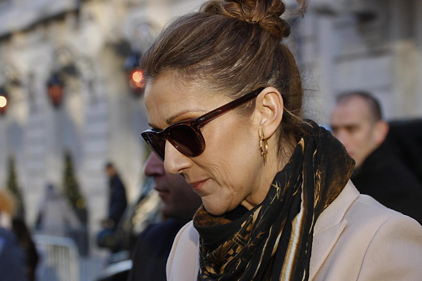 Celine Dion racconta la straziante agonia del marito malato di cancro