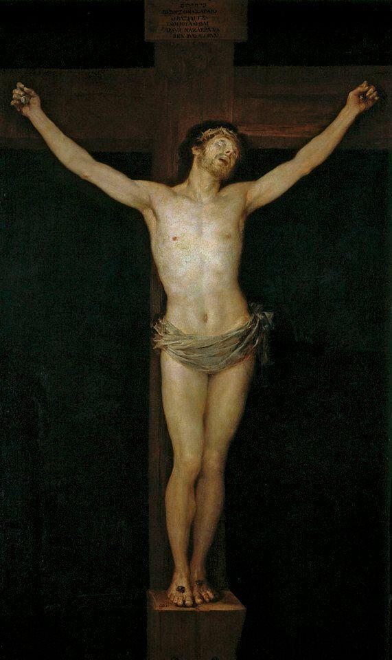 Cristo crucificado goya