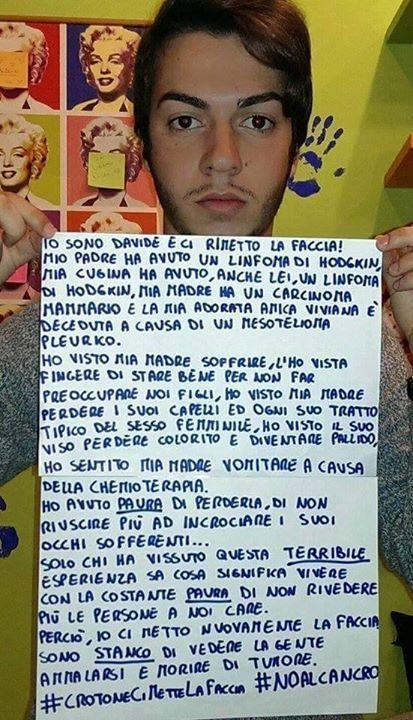 A Crotone si muore di tumore: la denuncia sui social