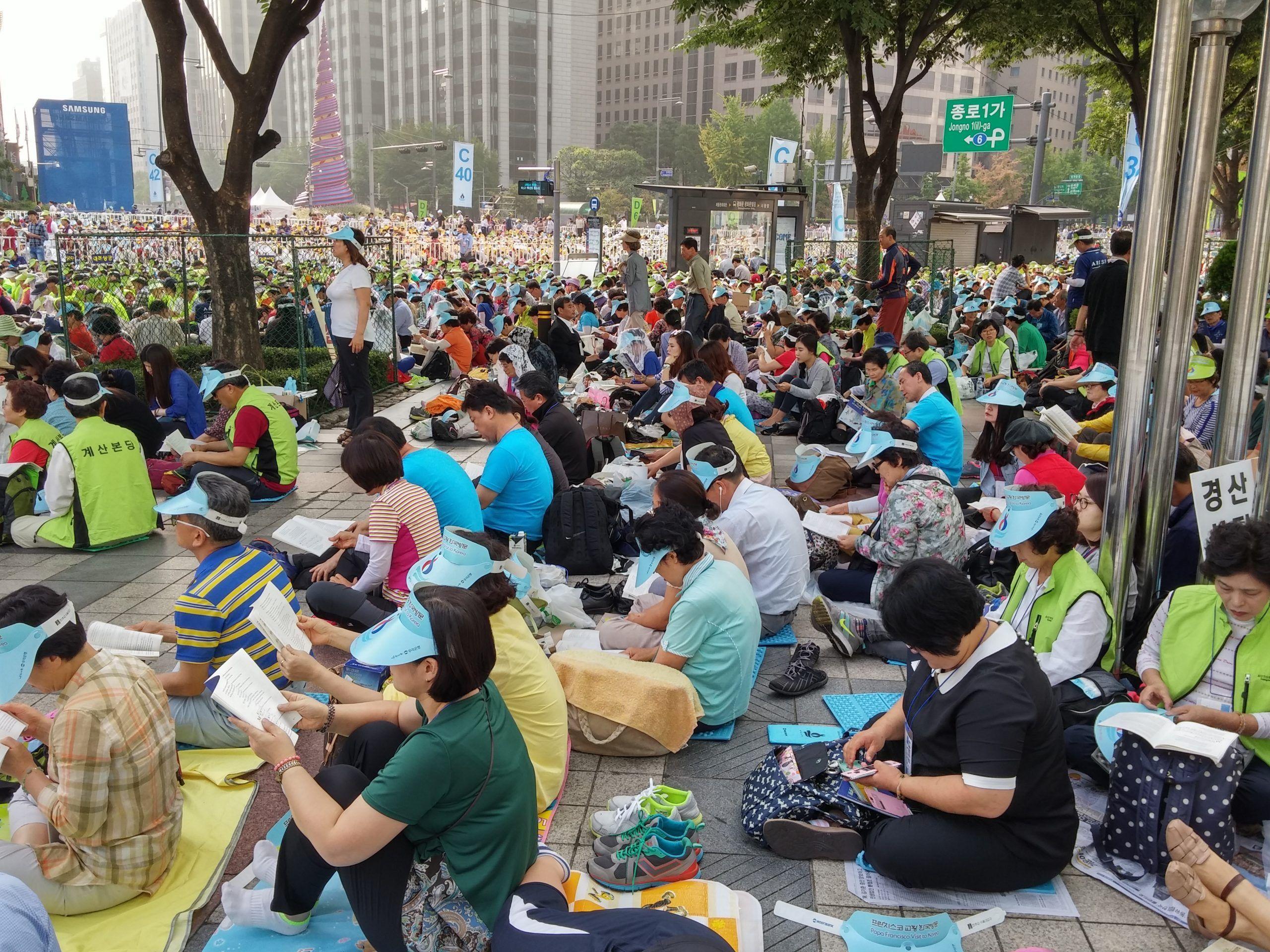 La grande famiglia coreana, lo stress e il senso civico