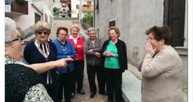 Le Funne del Trentino a 80 anni vedono il mare per la prima volta