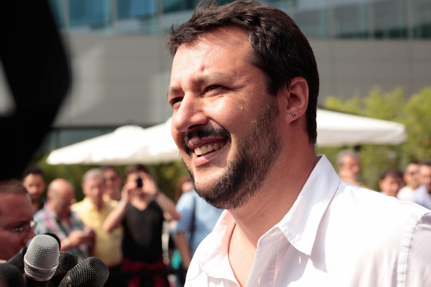 Salvini vuole l'alleanza con Berlusconi per mandare a casa Renzi