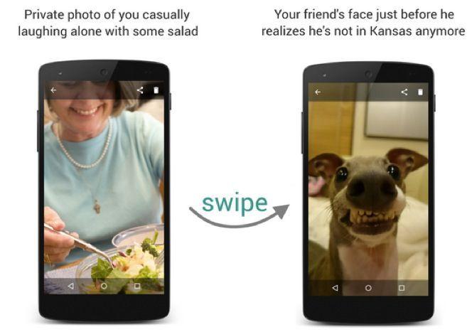 Guardi di nascosto le foto sul mio cellulare? Un selfie ti smaschererà