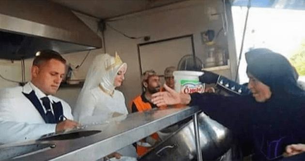 Una festa di nozze per sfamare 4.000 profughi siriani