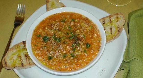 zuppa farro e fagioli
