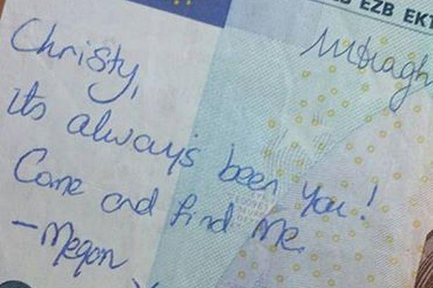 La banconota da 20 € che ha riunito una coppia