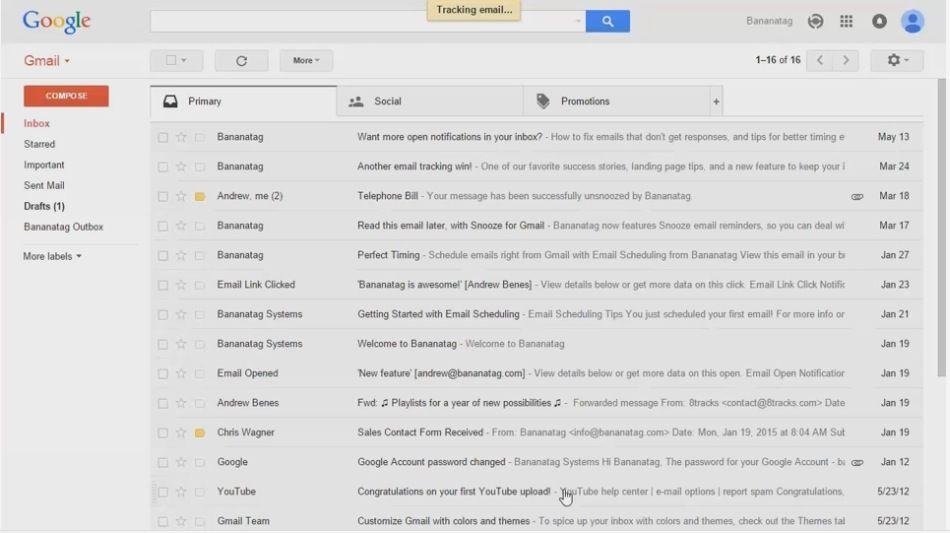 Gmail, scopri se il curriculum che hai spedito è stato letto
