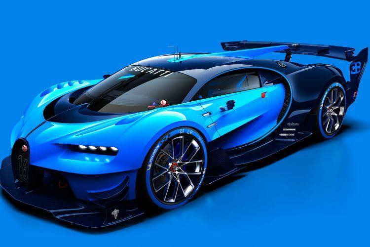 Bugatti Gran Turismo Vision concept 150x150