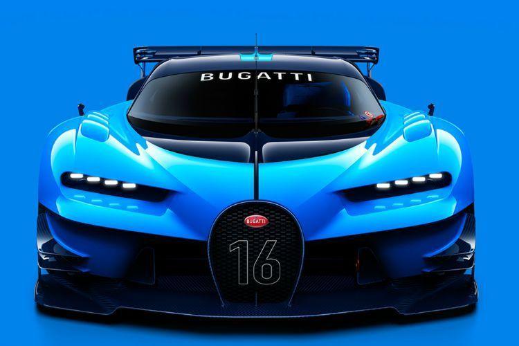 Bugatti Gran Turismo concept frontale 150x150