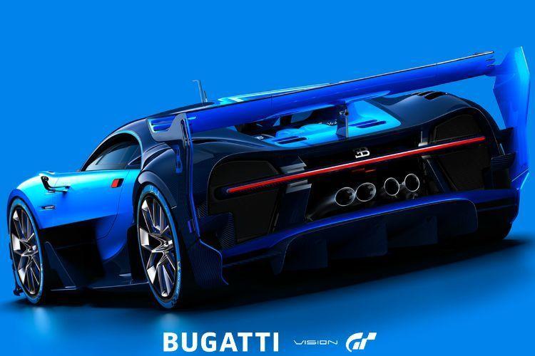 Bugatti Gran Turismo concept posteriore 150x150