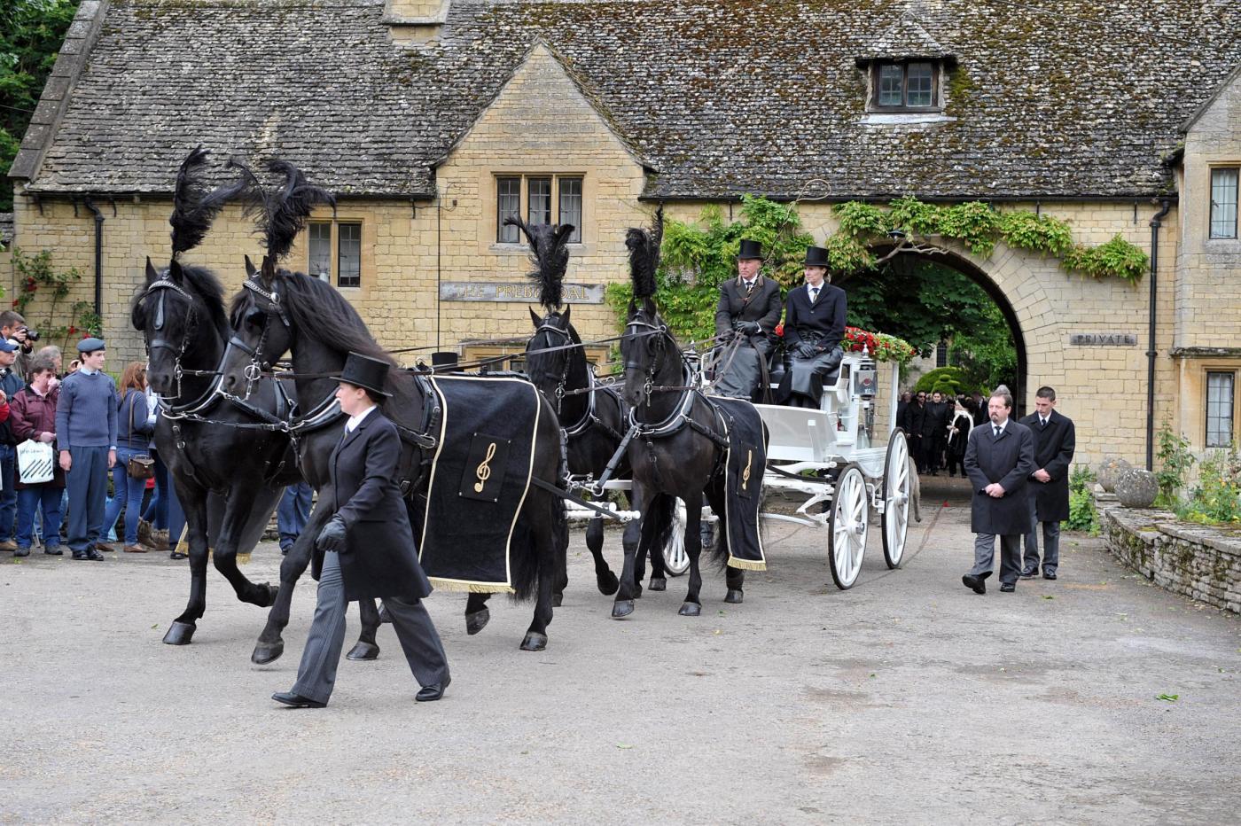 Funerali di Robin Gibb