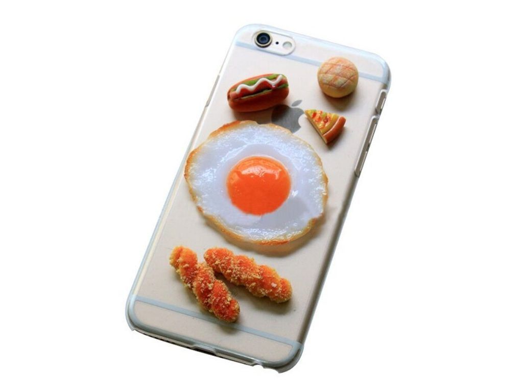 Handmade 3D Food Egg Bread Cover Case for iPhone 6 1024x768