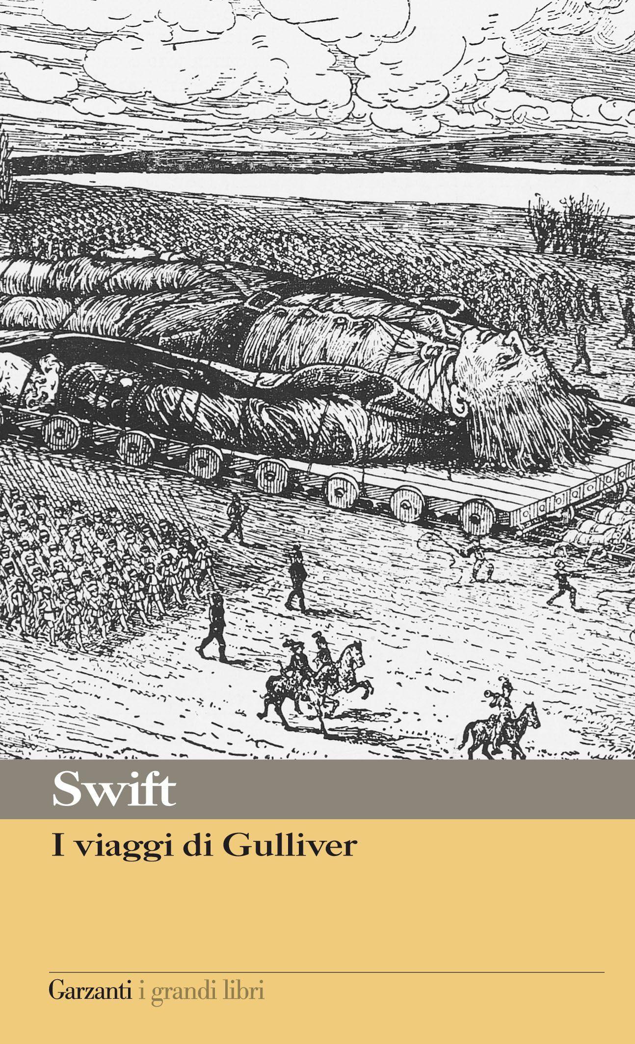 I viaggi di Gulliver cover