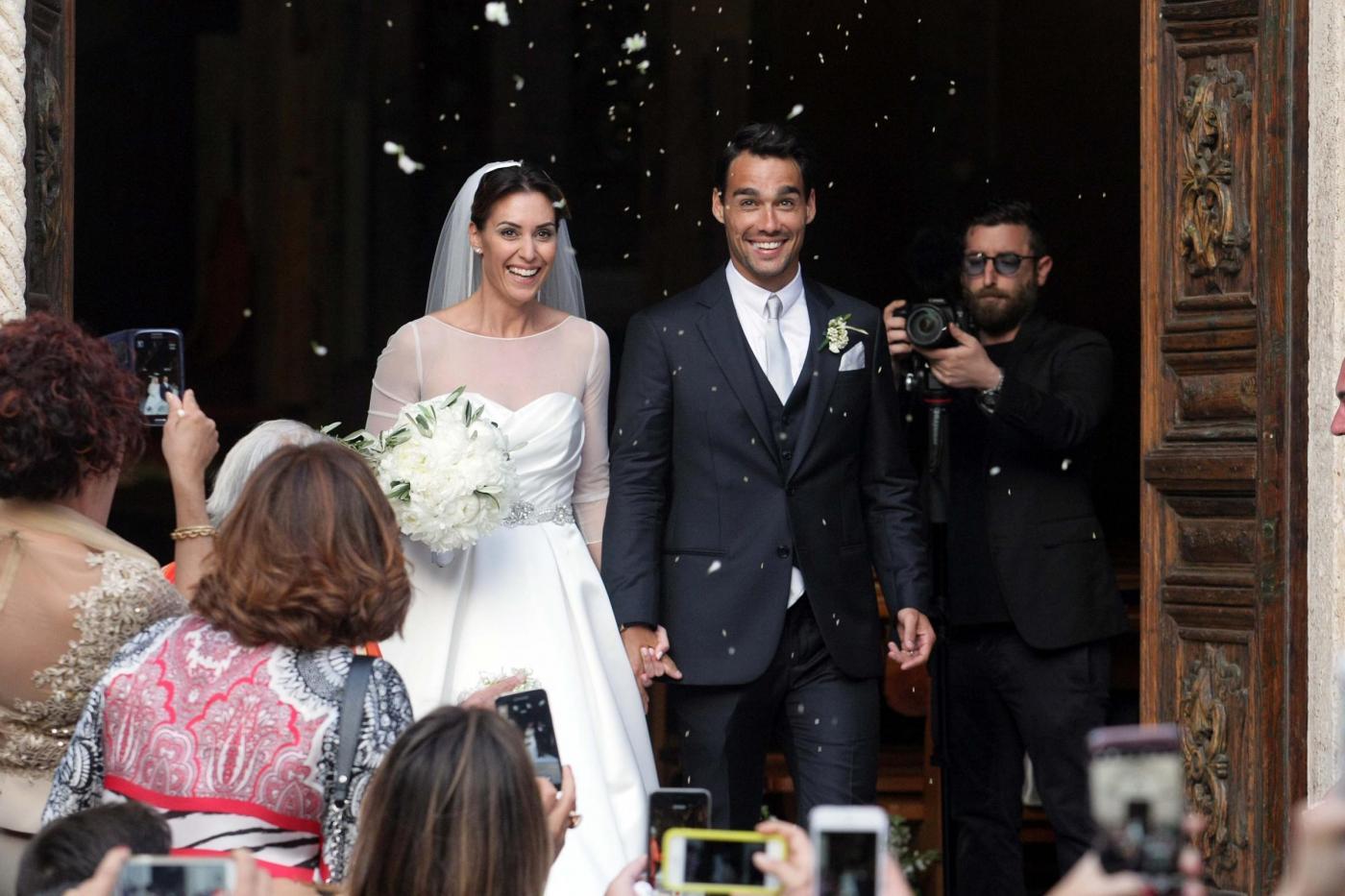 Flavia Pennetta e Fabio Fognini sposi, il matrimonio celebrato ad Ostuni