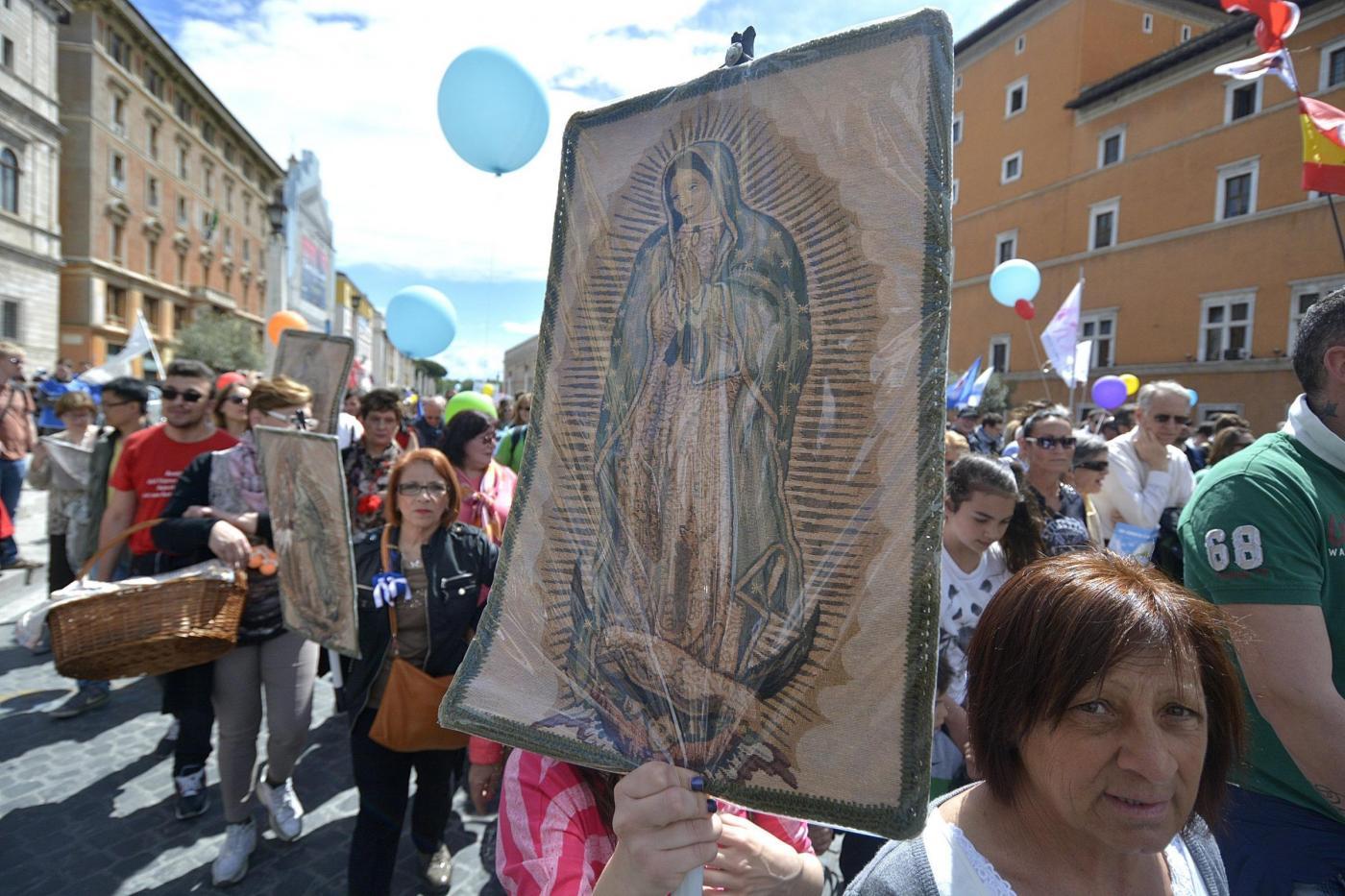 Manifestazione di cattolici