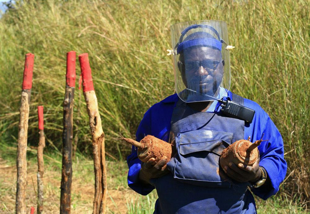 Il Mozambico è libero dalle mine antiuomo