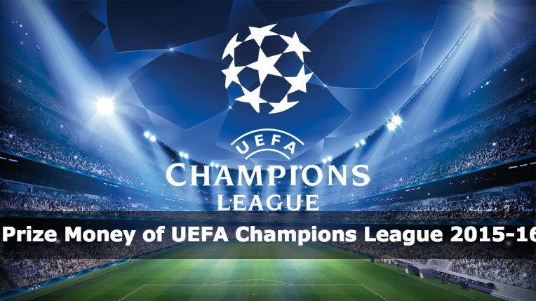 Montepremi UEFA Champions League 2015 16