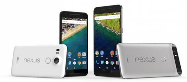 Nexus 5X e 6P: i nuovi googlefonini sono ufficiali