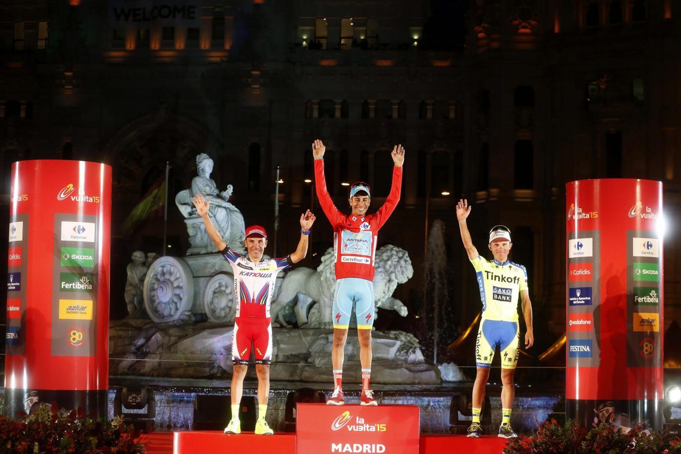 Vuelta di Spagna 2015 a Fabio Aru, la consacrazione
