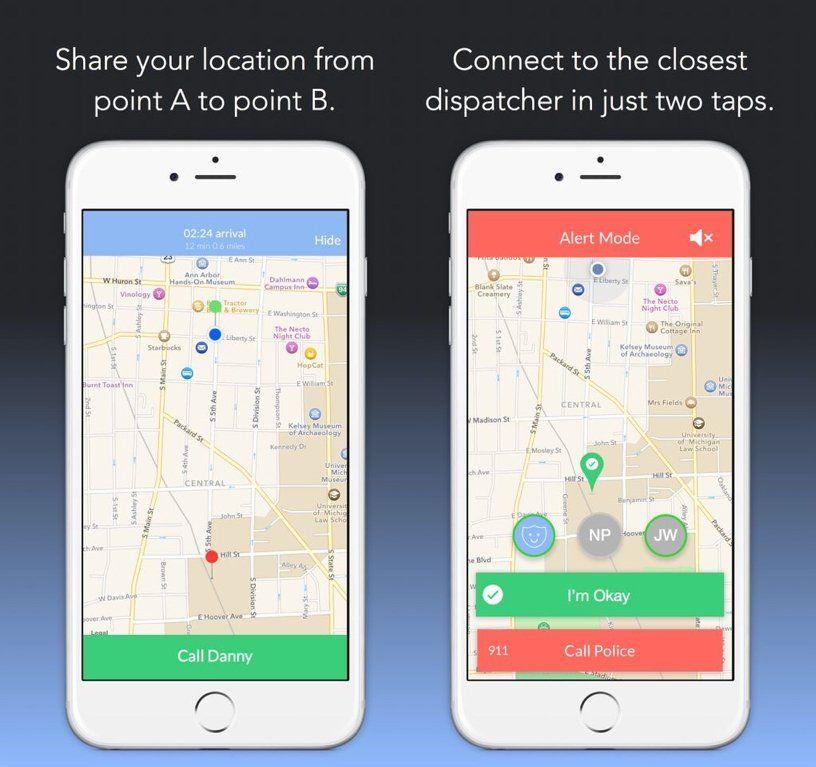 L'app che ti accompagna quanto torni a casa da solo