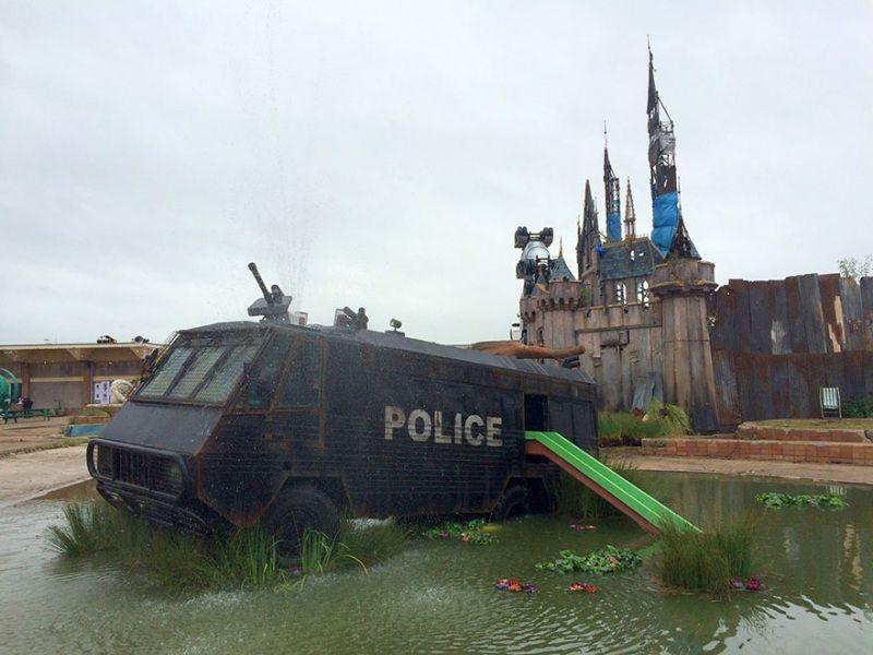 dismaland police