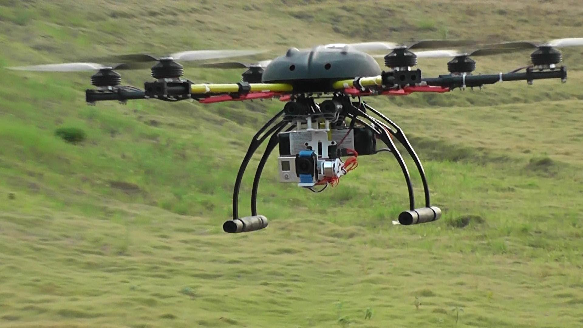 Tutela ambiente, droni in azione per il monitoraggio del territorio