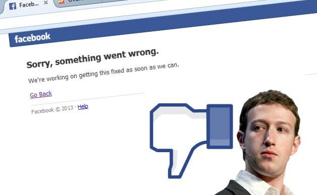 Tutti i down più catastrofici del web