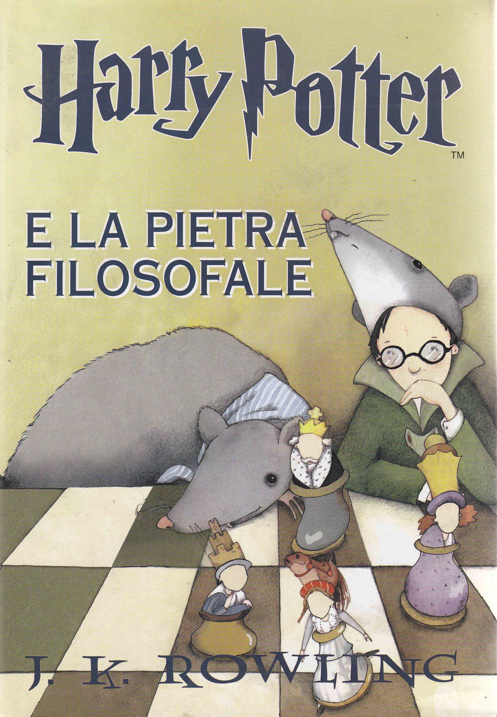 harry potter e la pietra filosofale cover