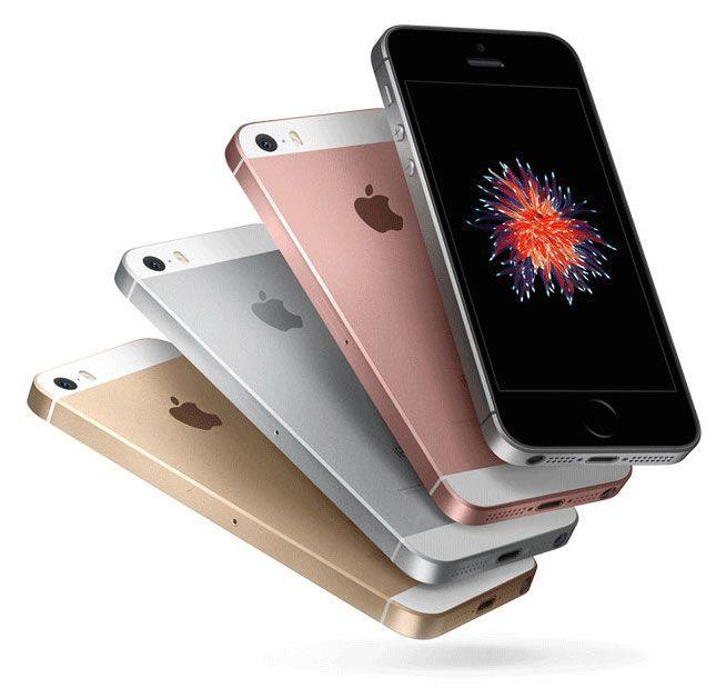 iPhone SE colorazioni