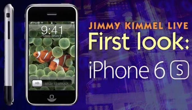 jimmy kimmel iphone 6s