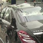 Mercedes S 63 AMG: distrutta a colpi di mazza dal proprietario