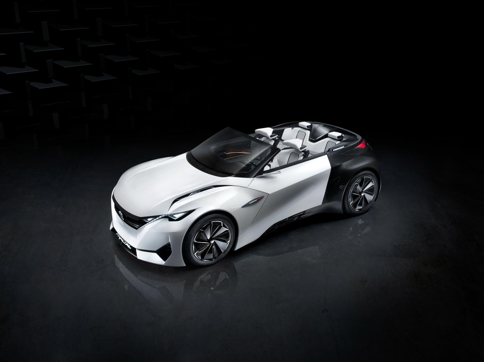 Peugeot Fractal: il concept in arrivo a Francoforte