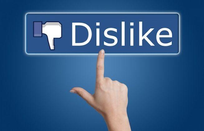 Tasto Non mi piace Facebook: 3 motivi perché lo odierai