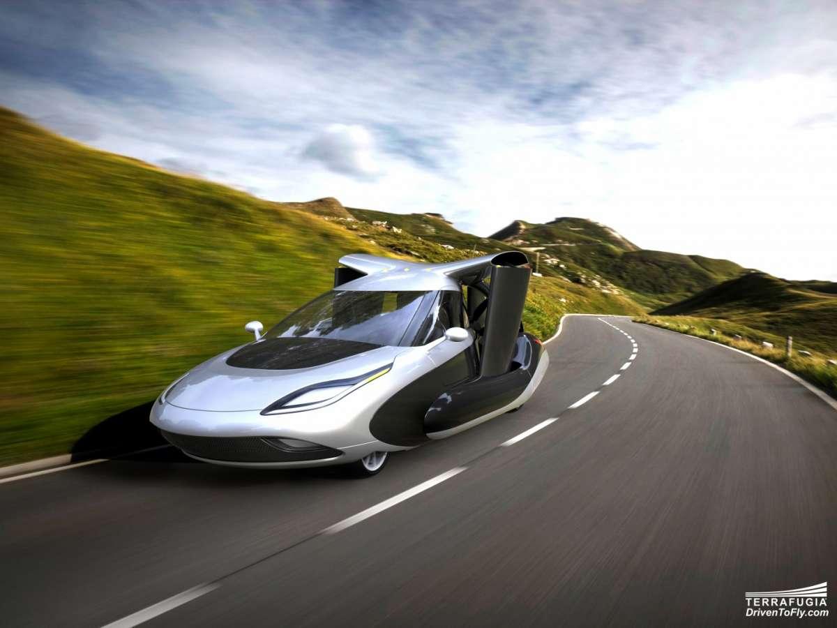 Auto che vola: prototipo che anticipa il futuro in video