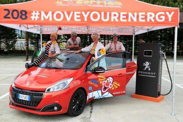 #MoveYourEnergy: l'iniziativa Peugeot con la Onlus Dottor Sorriso