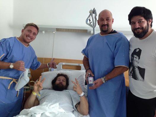 Rugby, Castrogiovanni operato con successo, tumore rimosso