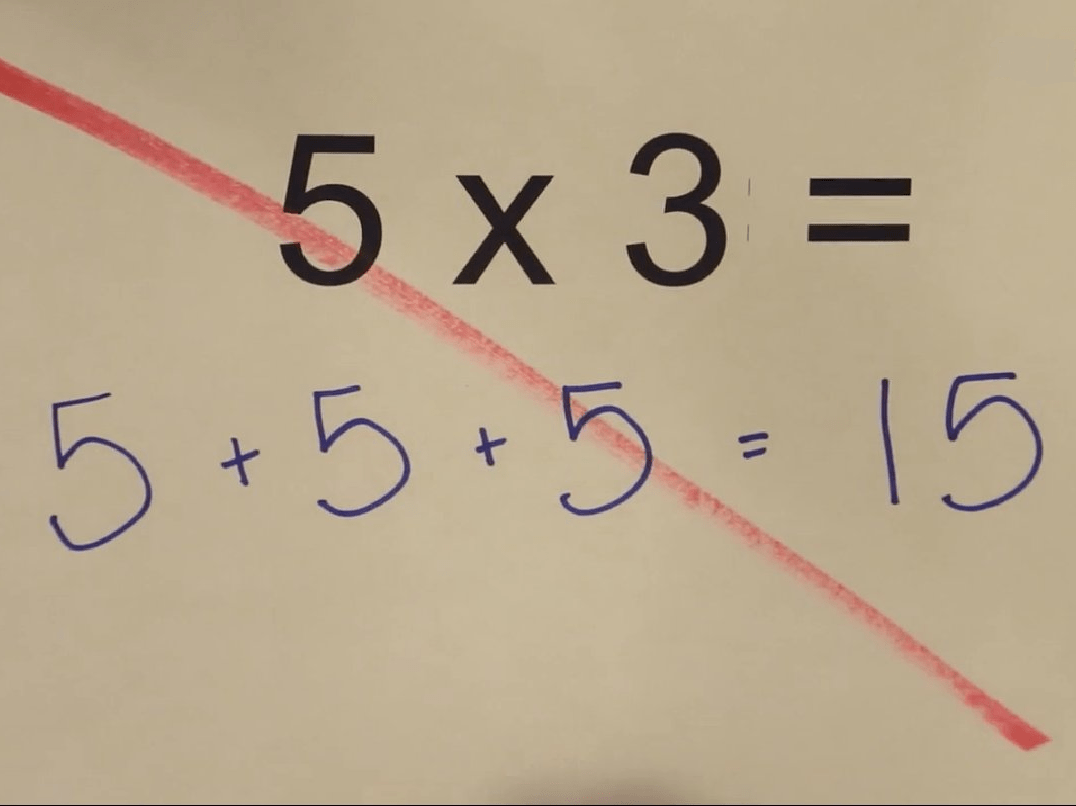 Cinque per tre